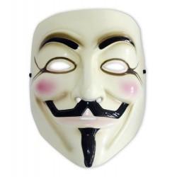 V pour Vendetta réplique masque de Guy Fawkes